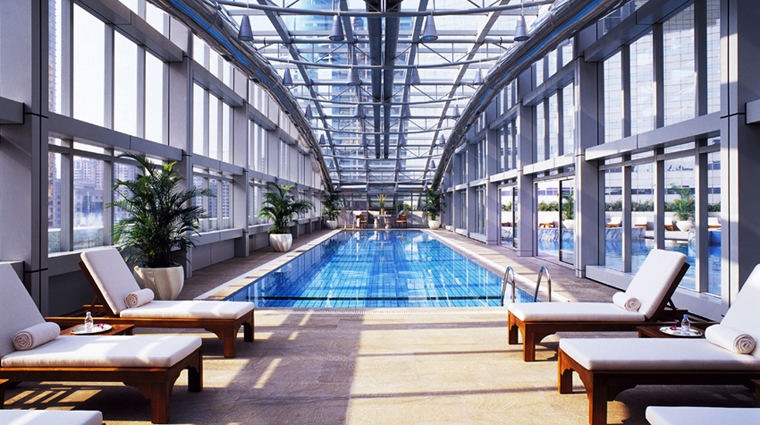 JW Marriott Hotel Shanghai at Tomorrow Square Indoor Pool