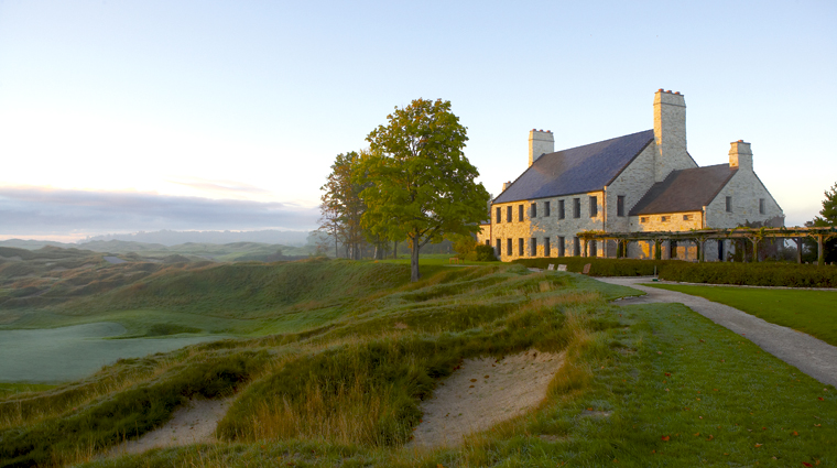 Blackwolf Run and Whistling Straits, The Clubhouse at Whistling Straits