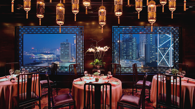 Man Wah Dining Room, Central, Hong Kong