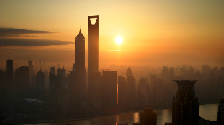 Park Hyatt Shanghai at Sunset