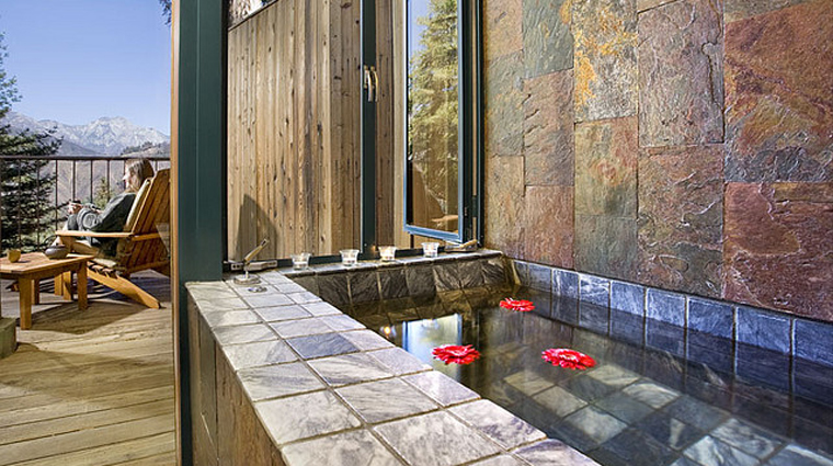 Post Ranch Spa Suite, Big Sur California