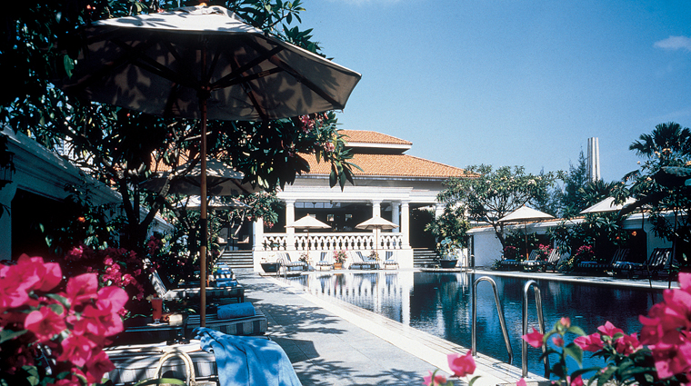 Raffles Singapore Hotel Outdoor Pool
