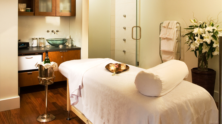 Red Door Spa Treatment Room