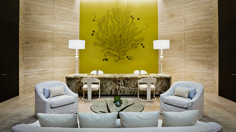 Remède Spa Bal Harbour Reception Lounge