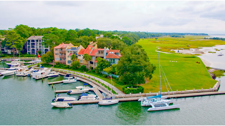 The Sea Pines Resort Harbour Town Yacht Basin