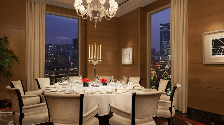 Sir Elly's Restaurant Hong Kong Private Dining Room