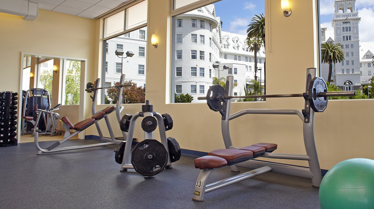 Spa Claremont Club Weight Room
