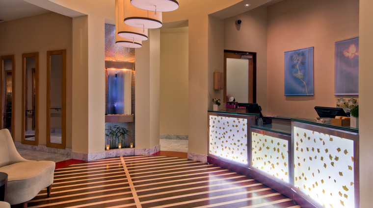 St Julien Hotel & Spa Spa Reception