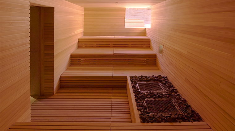 The Aman Spa at Amangiri Sauna