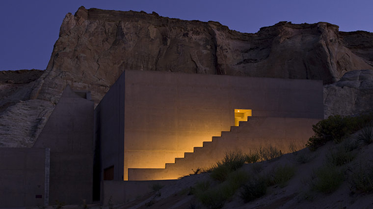 The Aman Spa at Amangiri Entrance