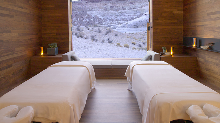 The Aman Spa at Amangiri Treatment Room