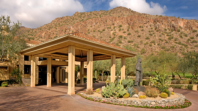 The Canyon Suites at The Phoenician Entrance