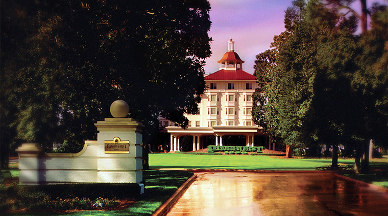 The Carolina Hotel at Pinehurst Resort Entrance