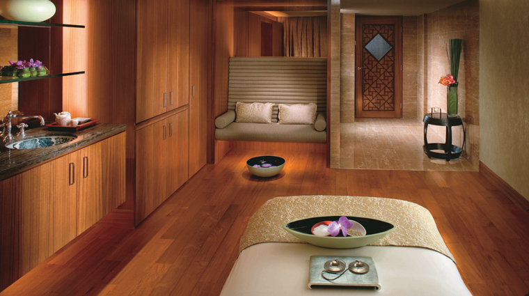 The Mandarin Spa Treatment Room