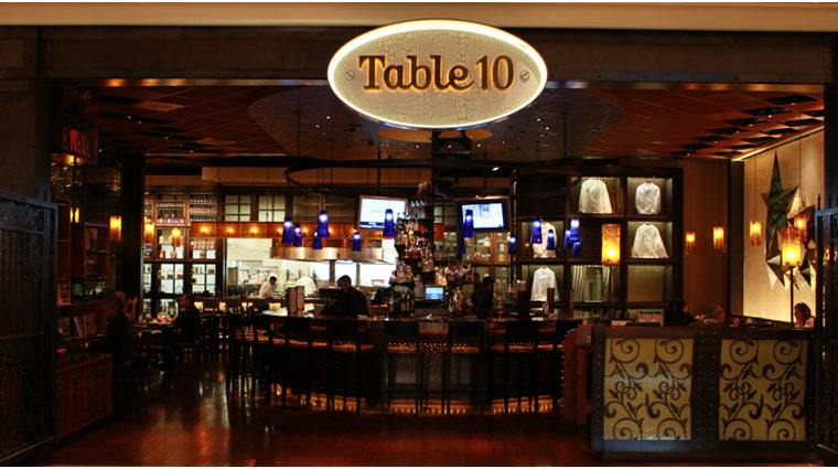 Table 10 Entrance