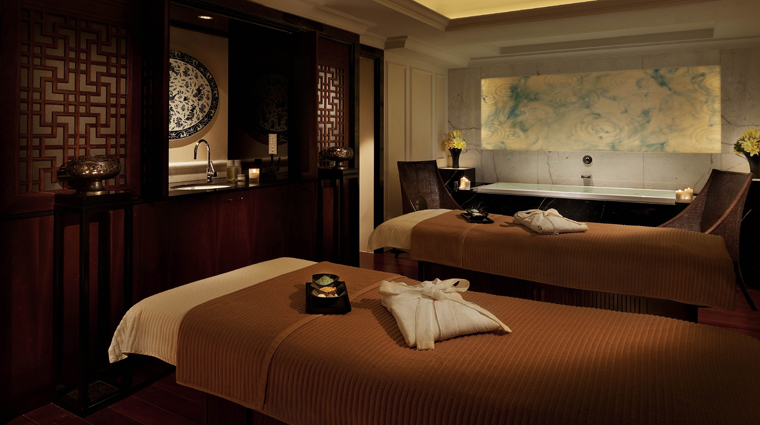 The Peninsula Spa Shanghai Treatment Room