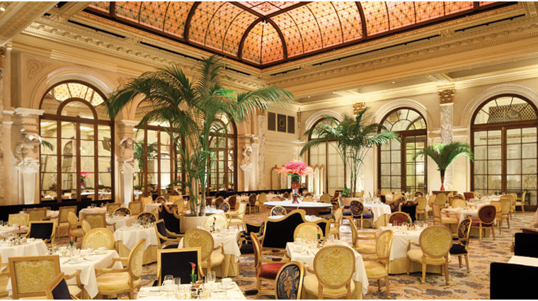 The Palm Court Interior