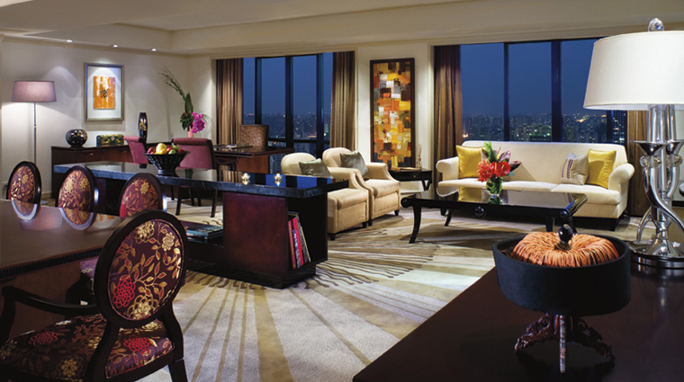 The Portman Ritz-Carlton, Shanghai The Greenberg Suite Living Area