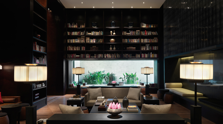 The PuLi Hotel and Spa Library