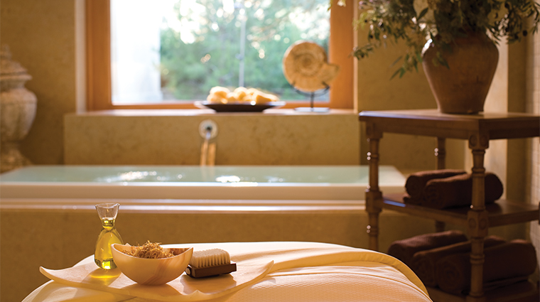 The Spa at Pelican Hill treatment rooms