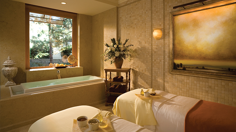 The Spa at Pelican Hill  Couples suite
