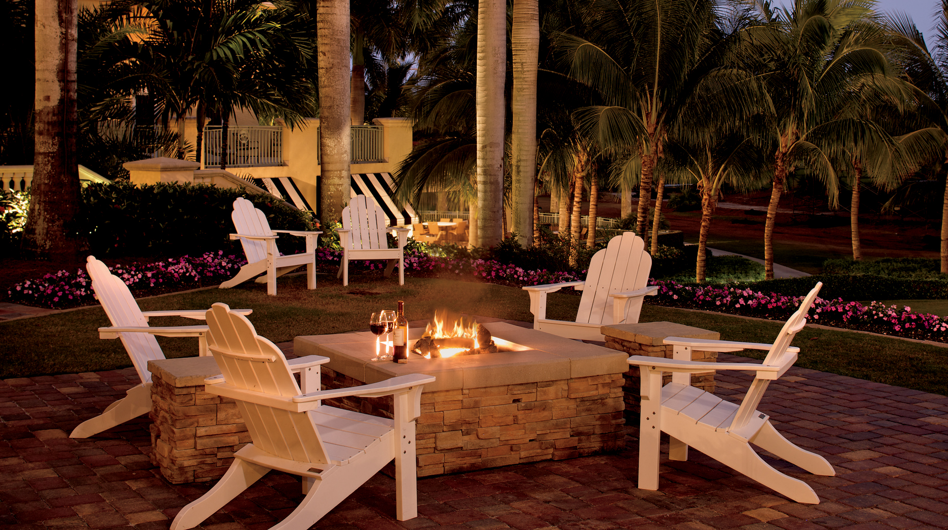 The Ritz-Carlton Golf Resort, Naples Firepit
