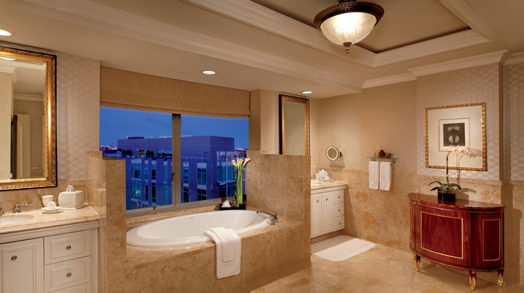 The Ritz Carlton Suite Bathroom