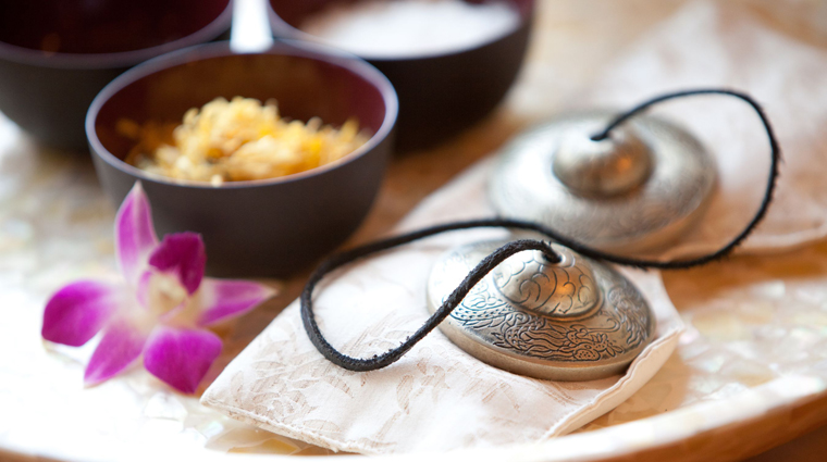 The Spa at Mandarin Oriental, Boston Welcoming Foot Ritual Materials