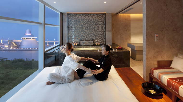 The Spa at Mandarin Oriental, Macau Treatment Room