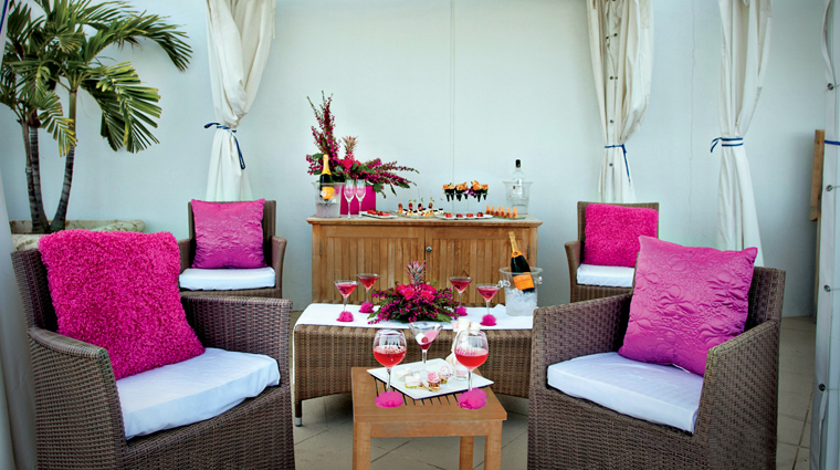 The Spa at The Ritz-Carlton, Fort Lauderdale Terrace Lounge Area