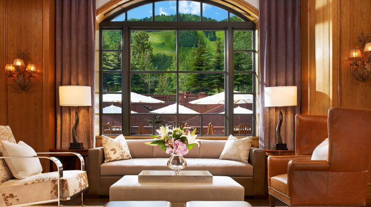 The St. Regis Aspen Resort Shadow Mountain Lounge