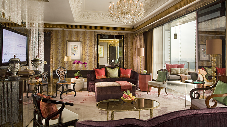The St. Regis Singapore Presidential Suite Living Room