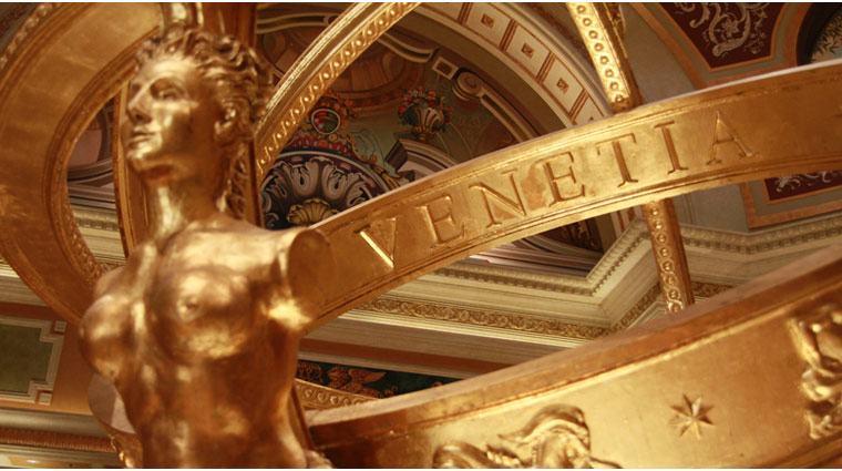 The Venetian Resort Hotel Casino Lobby