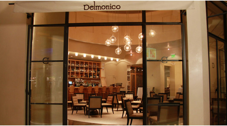 Delmonico Steakhouse Entrance