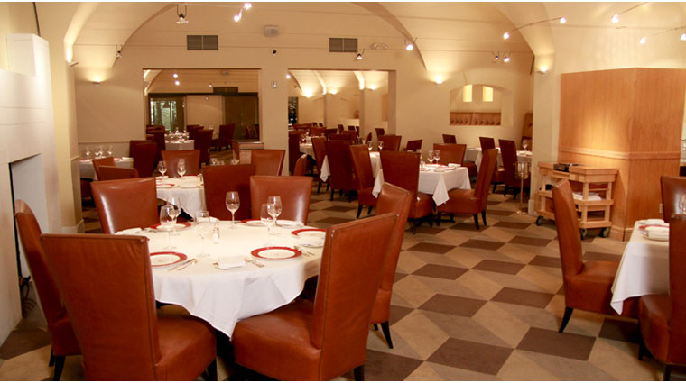 Delmonico Steakhouse Interior
