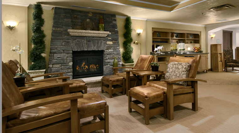 Willow Stream Spa at The Fairmont Banff Springs Willow Stream Lounge