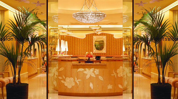 The Spa at Wynn Las Vegas Salon Entrance