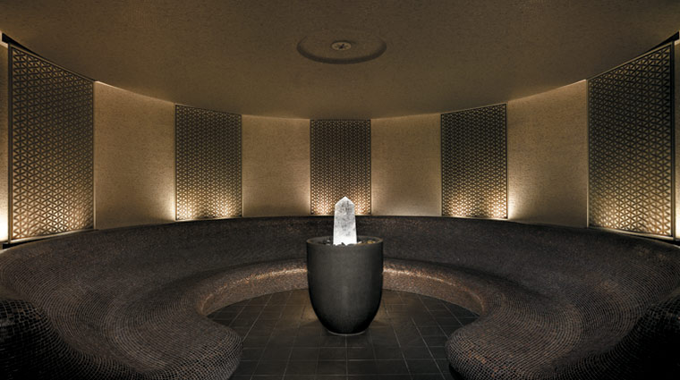The Peninsula Spa by ESPA Hong Kong Crystal Steam Room