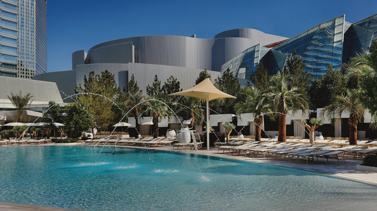 Aria Resort & Casino Pool