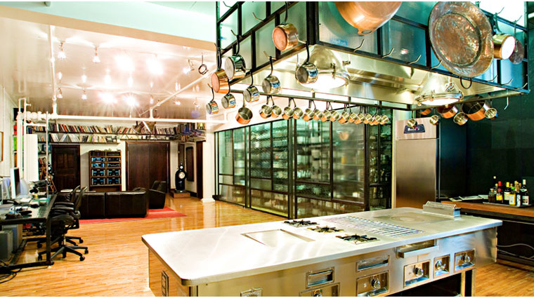 Bouley Test Kitchen Interior Style
