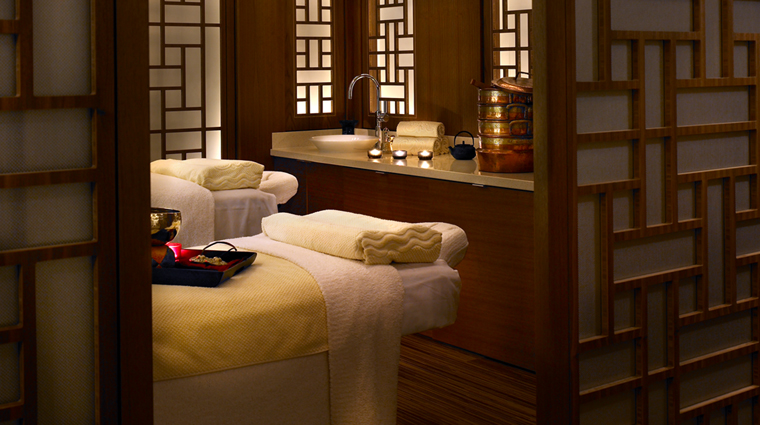 CHI, The Spa at Shangri-La Hotel, Vancouver Couples Treatment Room