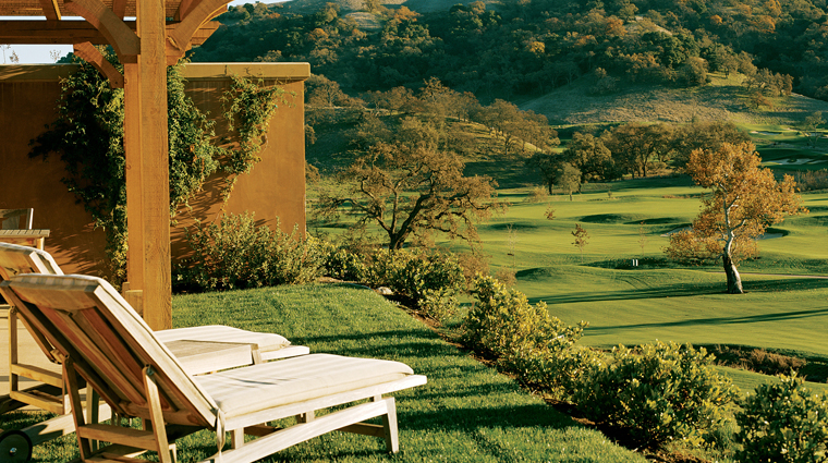 CordeValle, A Rosewood Resort Terrace View of Golf Course