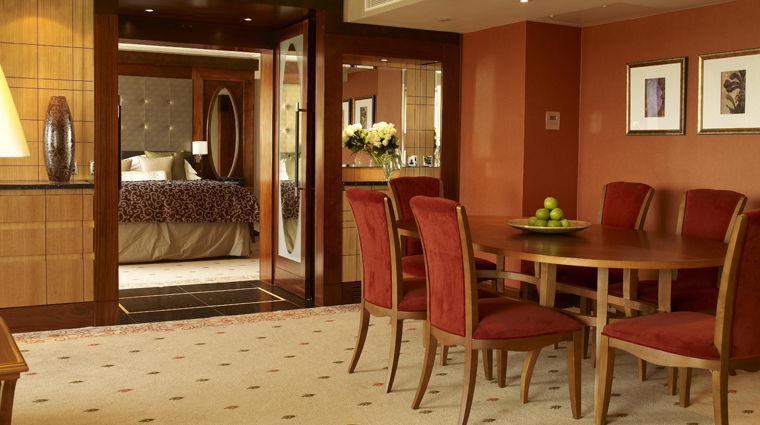 InterContinental London Park Lane One Bedroom Suite Dining Room