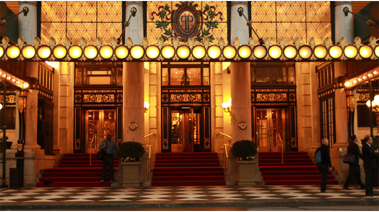 The Plaza Hotel Entrance