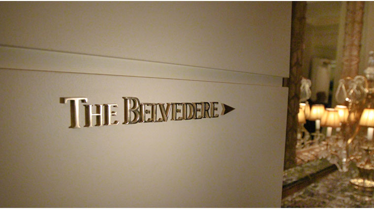 The Belvedere Signage
