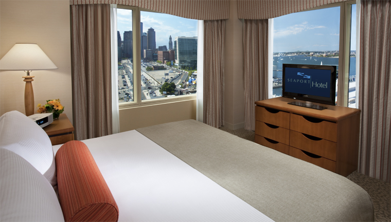 Seaport Hotel & World Trade Center Executive Suite