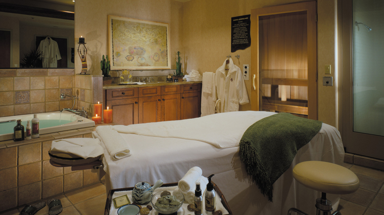 The Spa at Four Seasons Resort Scottsdale at Troon North Treatment Room