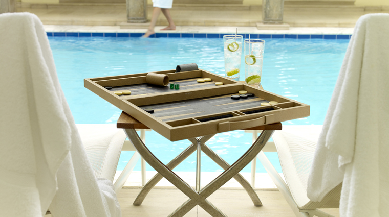 The Berkeley Health Club and Spa Poolside Activities