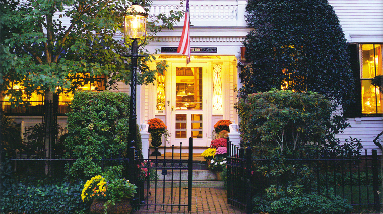 The Charlotte Inn Entrance