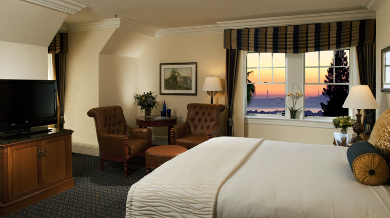 The Claremont Hotel Club & Spa Guestroom with Bay View
